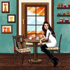 """Уже осень. А осенью не следует оставаться одной. Пережить осень и так достаточно трудно. (""""Тени в раю"""", Ремарк)"""