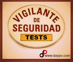Una buena colección de TESTS VIGILANTE SEGURIDAD. ¿Te estás preparando?, aquí te dejamos una ayuda... ¡ ¡ ¡ ¡ SUERTE ! ! ! ! ! Security Guard, Personal Finance