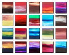 Hilary Winfield - Dreaming of Twenty Sunsets -  acrylic on canvas, in Sunrise Series Gallery