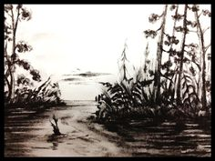 Charcoal Charcoal, Frames, Dark, Painting, Outdoor, Outdoors, Frame, Painting Art, Paintings