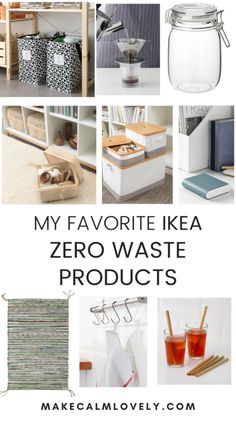 My Favorite Zero Waste IKEA Products
