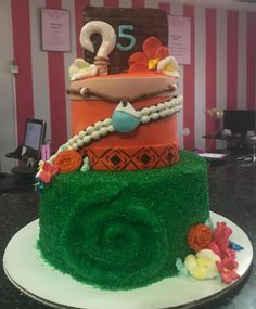 Moana Birthday Party, Birthday Cake, Birthday Parties, Kids Party Themes, Party Ideas, Dahlias, Dreamworks, Pixar, Hawaii
