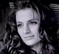 """Stana Katic as Sofia in """"For Lovers Only."""""""