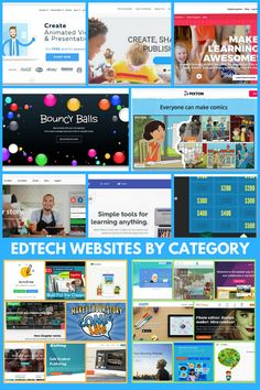 EdTech Websites by Category EdTech Websites by Category Here is a collection of over 40 Educational Technology websites divided into ten categories - # - Technology Websites, Technology Lessons, Teaching Technology, Technology Integration, Teacher Freebies, Classroom Freebies, Classroom Hacks, Google Classroom, Educational Software