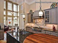 Kitchen from Luxury Home Magazine