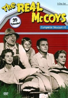 The Real McCoys - Season 2 Three-time Academy Award-winner Walter Brennan played the role to perfection. His kin were his grandson Luke (Richard Crenna) and his Photo Vintage, Vintage Tv, Vintage Hollywood, Vintage Style, Childhood Tv Shows, My Childhood Memories, Sweet Memories, Vintage Television, Old Shows