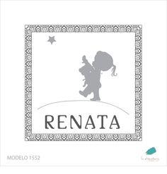Diseño para tarjetitas de nene