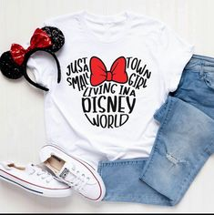 Disney World Mickey Tshirt This t-shirt is Made To Order, one by one printed so we can control the quality. Disney World Outfits, Cute Disney Outfits, Disney World Shirts Family, Disney Vacation Outfits, Disney Clothes, Disneyland Shirts For Family, Disney Diy Shirts, Disney Christmas Shirts, Disney Couple Shirts