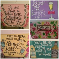 Sorority Cooler Made to Order by PaintedPrepp on Etsy