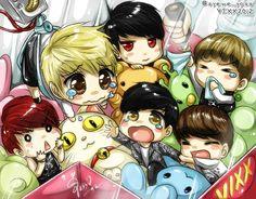 Leo vixx Hongbin Kpop fan art n Ravi ken hyuk Vixx Hongbin, Jellyfish Entertainment, Korean Boy Bands, Deviantart, Kpop Fanart, Cute Pins, Sword Art Online, Bigbang, Kdrama