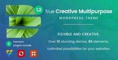 Doyle - Creative Multipurpose WordPress Theme Doyle is one of fastest WordPress Theme. Doyle is a minimal, creative Multipurpose WordPress Theme. Comes with 10+ Home pages, Doyle fits for a range of business & corporation like Portfolio, fashion store, one page, photographer, media agency, web studios, designers