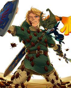 Legend of Zelda - Link Art