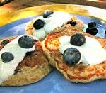 oatmeal-blueberry-pancakes