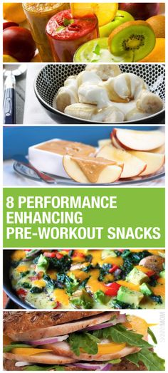 These pre-workout snacks are super simple and a quick energizing treat before you head to the gym.