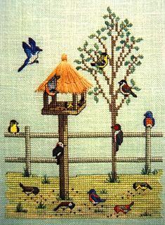 Summer Bird Feeder by Crossed Wings