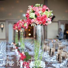 Liz & Christian's Elegant Traditional Wedding – flower ball decor