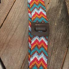 Beaded belt This belt is so pretty! Nocona Accessories Belts
