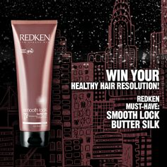 #Redken Smooth Lock Butter Silk: your #winter-hair dream!-----true, I can't survive winter without this on my hair, saves it from dryness every time.