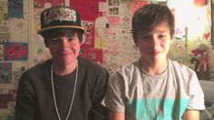 "COOL MORNING 2 - Austin Mahone and Alex Constancio random. they are so ridiculous!!!!! ;""D"