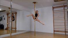 Advanced pole tricks - YouTube