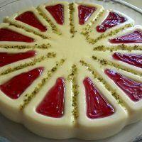 Frambuazlı Kesme Muhallebi - Nefis Yemek Tarifleri Panna Cotta, Pie, Pudding, Fruit, Cooking, Ethnic Recipes, Desserts, Food, Unique