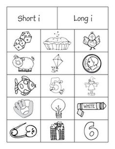 short 'i' long 'i' sort