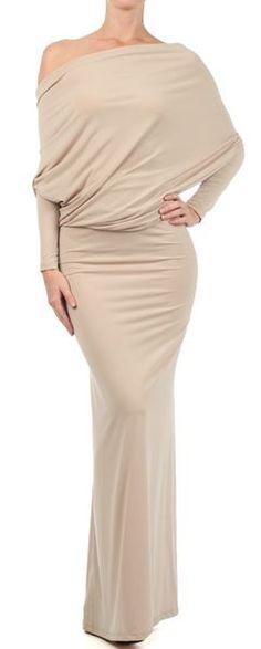 OOH LA LA WHITES CONVERTIBLE MULTI WAY Maxi Dress