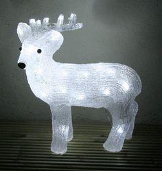 Alaskan Standing Reindeer Light Up Figure