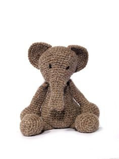 Elephant. Loved these animals when we saw them at the Knitting and Stitching Show!