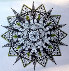 Zentangle Mandala | zentangle mandala | ART - Drawing