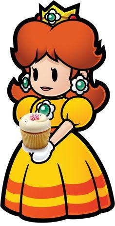 Daisy and the Vanilla Cupcake by SarahVilela