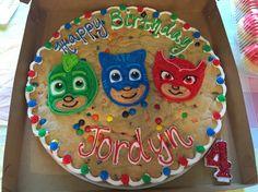 Pj Mask Cookie Cake