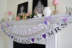 Purple Bridal Shower | Time for the Holidays