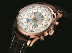 Breitling Transocean Chronograph Unitime for round the world sailors