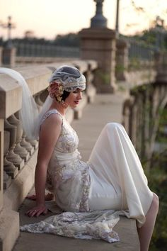 1920's Elegance...perfect for a Gatsby themed wedding..