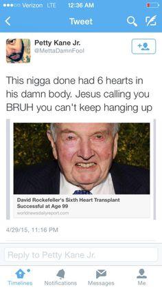 "eastafriqueen:  ""Jesus calling you bruh you can't keep hanging up"" lmfaoooo"