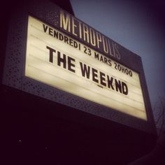 the weeknd is definitely on my list of people to see perform this year!!!