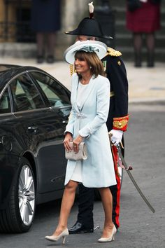 Carole Middleton, mother of the bride