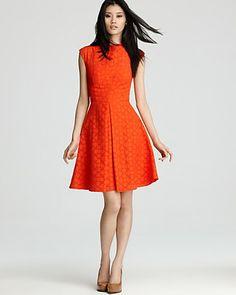 Milly Dress - Avery Cap Sleeve   Bloomingdale's