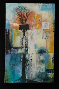 Find me here (again) - Andrea Bird - Ontario Encaustic Artist