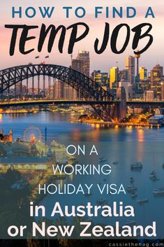 Jobs Australia, Moving To Australia, Working Holiday Visa, Working Holidays, New Zealand Jobs, Baby Modeling Agency, Places To Travel, Travel Destinations, South Pacific