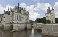 The Chenonceau Castle (Castle of Ladies) - France