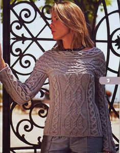 """Women's CableKnit Boatneck Sweater 28C. Premium Quality Yarns. Any Sizes and Any Colors. Made by KnitWearMasters: 1000's of Satisfied Customers, World Class Hand Knit Products. MADE-TO-ORDER MODEL - Material: Wool - Production time: 3-4 weeks HOW TO ORDER: 1.Choose size ( see """"Size Chart"""" for help) 2.Choose color (see"""