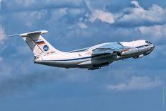 https://flic.kr/p/D99NKo | Ilyushin IL-76MD | Aircraft Iilyushin IL-76MD is takeoff from airport the Pulkovo at Saint-Petersburg, Russia