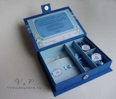 подарок на рождение мальчику коробочка мамины сокровища