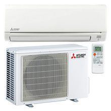 Mitsubishi Mz Hm12na 12 000 Btu 18 Seer Ductless Mini Split Heat Pump Ductless Air Conditioner Mitsubishi Air Conditioner Heat Pump Air Conditioner