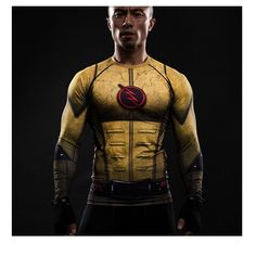 Cheap shirt cover, Buy Quality clothing modern directly from China shirt gradient Suppliers: Cosplay Costume Reverse Flash Printed T-shirts Men Raglan Long Sleeve Compression Shirt Fitness Clothing Male Tops Halloween 3d T Shirts, Gym Shirts, Running Shirts, Workout Shirts, T-shirt Raglan, Superhero Superman, Flash Superhero, Spiderman, Super Hero Shirts