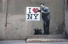 Street Work of Banksy: British Graffiti Artist,