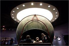 Atwood Sphere at the Adler Planetarium in Chicago.