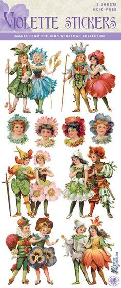 Violette Stickers C08- Fairy Couples